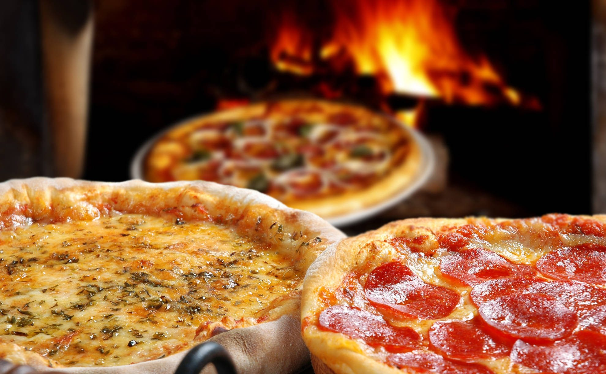 three - pizzas-by-fire